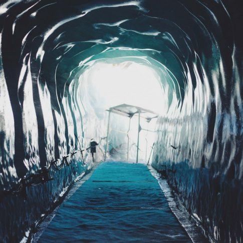 grotte de glace, chamonix
