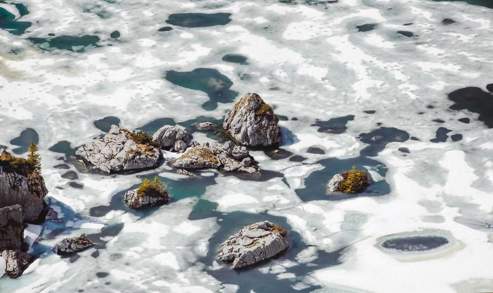 lac de darbon gelé