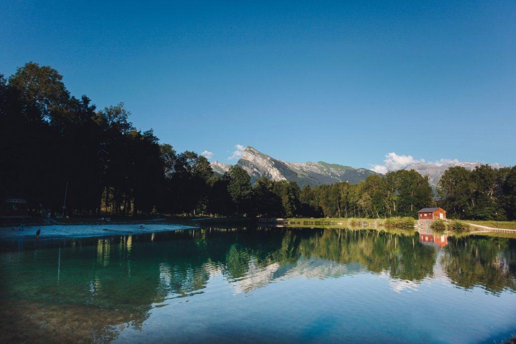 Lac bleu - Morillon