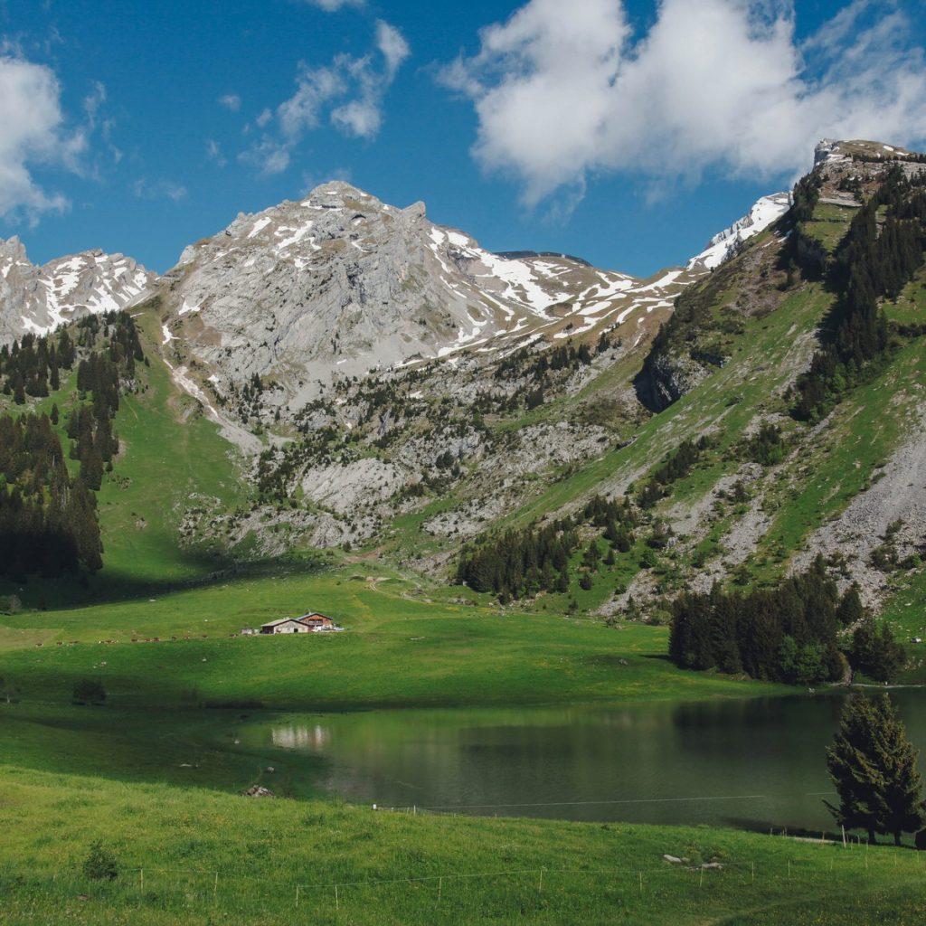 lac des confins - la clusaz