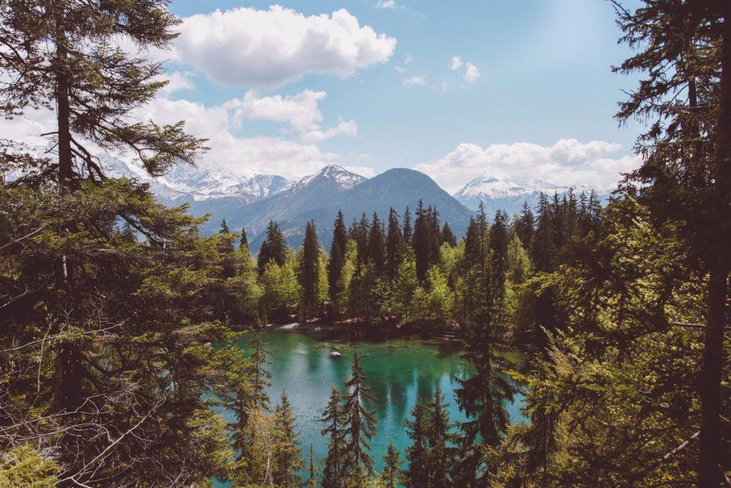 Lac vert - haute-savoie