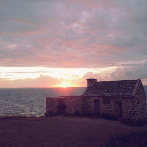 coucher de soleil - bretagne