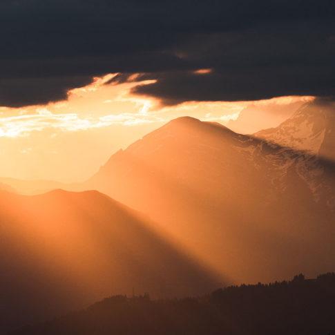 Lever de soleil au plateau de Cenise